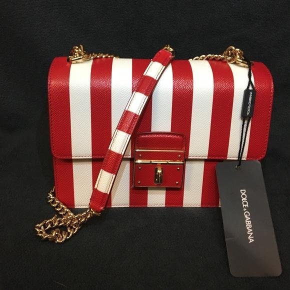 f06d5be9682c Dolce   Gabbana Rosalia leather handbag NWT